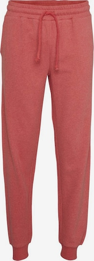 KnowledgeCotton Apparel Hose 'Teak Jog Pant' in pink, Produktansicht