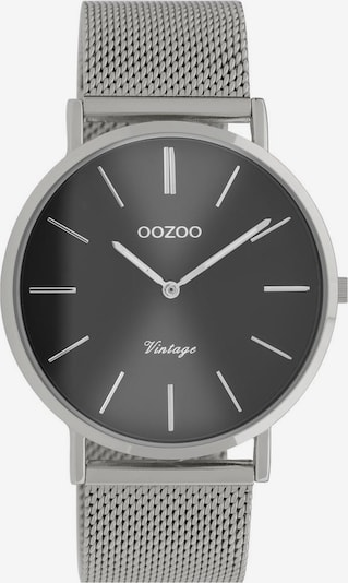 OOZOO Uhr 'C9937' in silbergrau / silber, Produktansicht