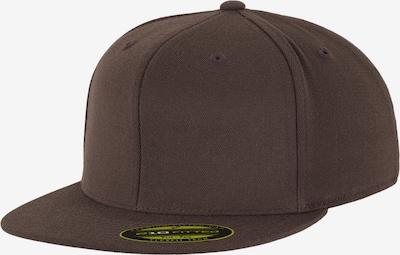 Flexfit Premium 210 Fitted Cap in braun, Produktansicht