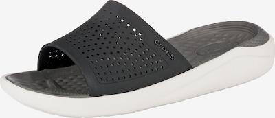 Crocs Pantolette in grau, Produktansicht