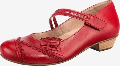 BRAKO Riemchenballerina in rot, Produktansicht