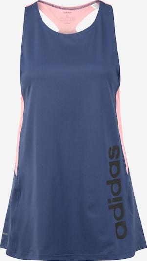 ADIDAS PERFORMANCE Haut de sport en bleu foncé / rose, Vue avec produit