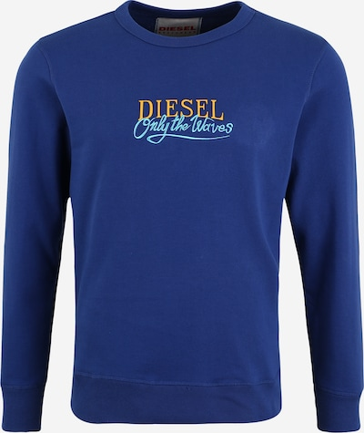 DIESEL Sweatshirt 'BMOWT-WILLY' in blau, Produktansicht