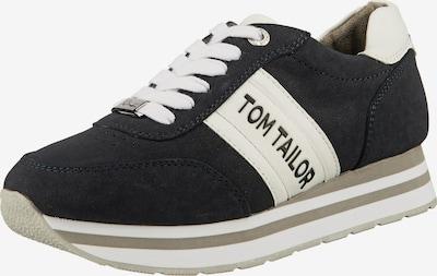 TOM TAILOR Sneaker in nachtblau / weiß, Produktansicht