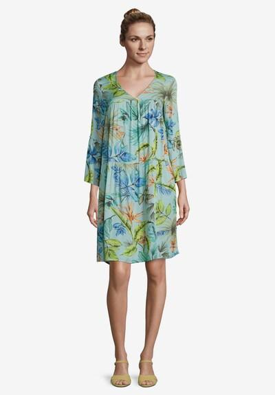 Betty Barclay Sommerkleid mit 3/4 Arm in grün / petrol, Modelansicht
