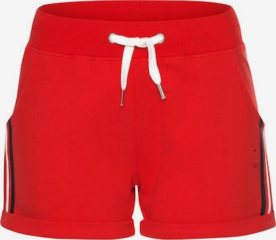 HIS JEANS Shorts in rot, Produktansicht