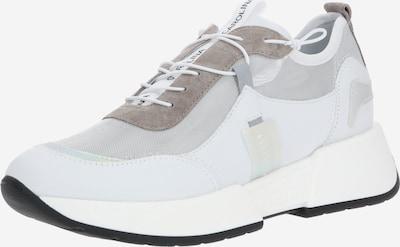 Donna Carolina Sneaker in braun / hellgrau / weiß: Frontalansicht