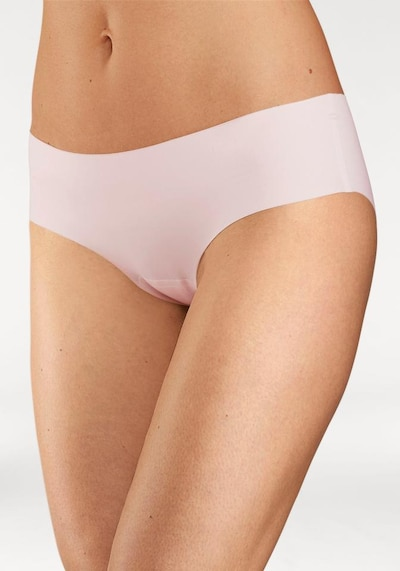 SCHIESSER Lasercut Panty 'Invisible Light' in hellpink: Frontalansicht