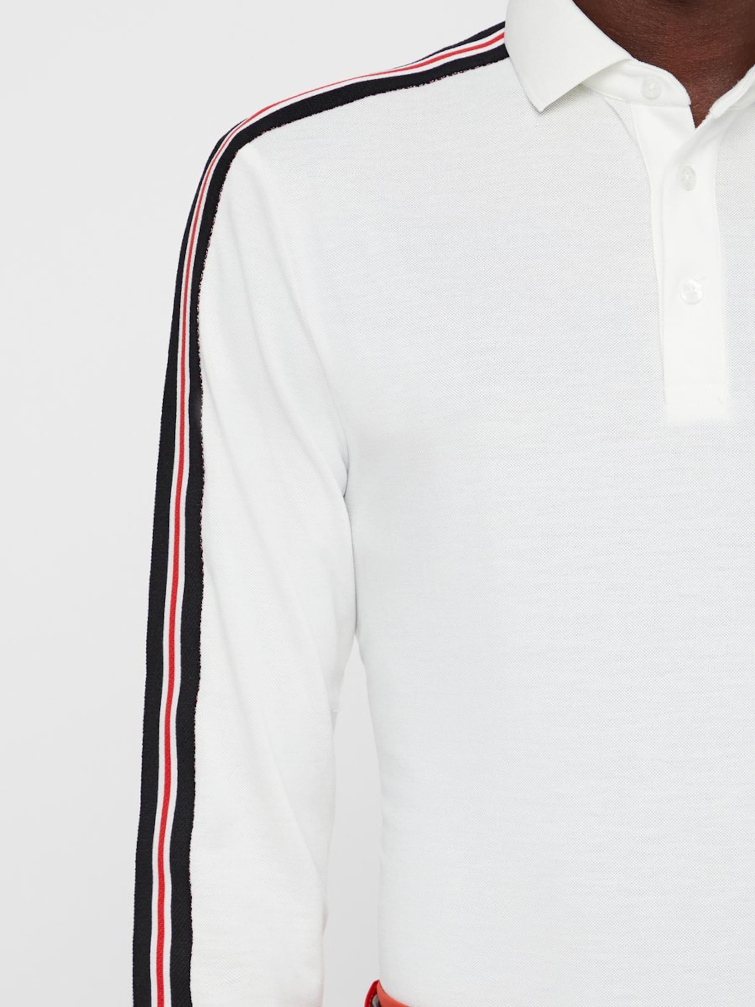 T J shirt RougeNoir lindeberg Pique' Blanc 'cool En 4L5RqA3j