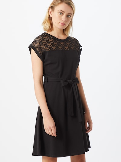 ONLY Kleid 'ONLBILLA S/L LACE DRESS JRS' in schwarz, Modelansicht