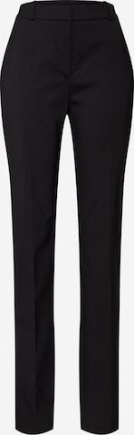 Pantalon à plis HUGO en noir