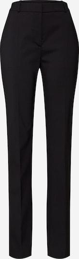 Pantaloni con piega frontale HUGO di colore nero, Visualizzazione prodotti