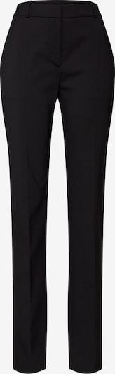 HUGO Pantalon à plis en noir, Vue avec produit