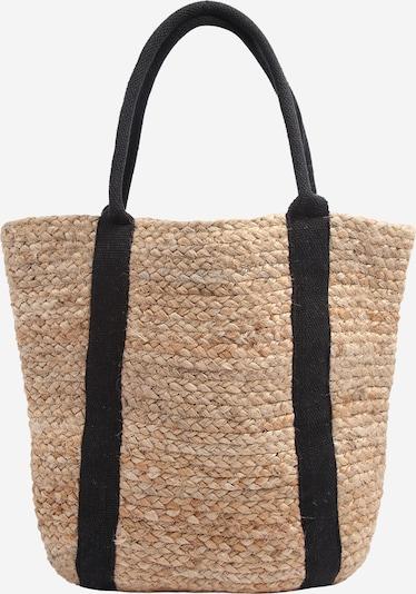 bézs / fekete PIECES Shopper táska 'PCNALA', Termék nézet