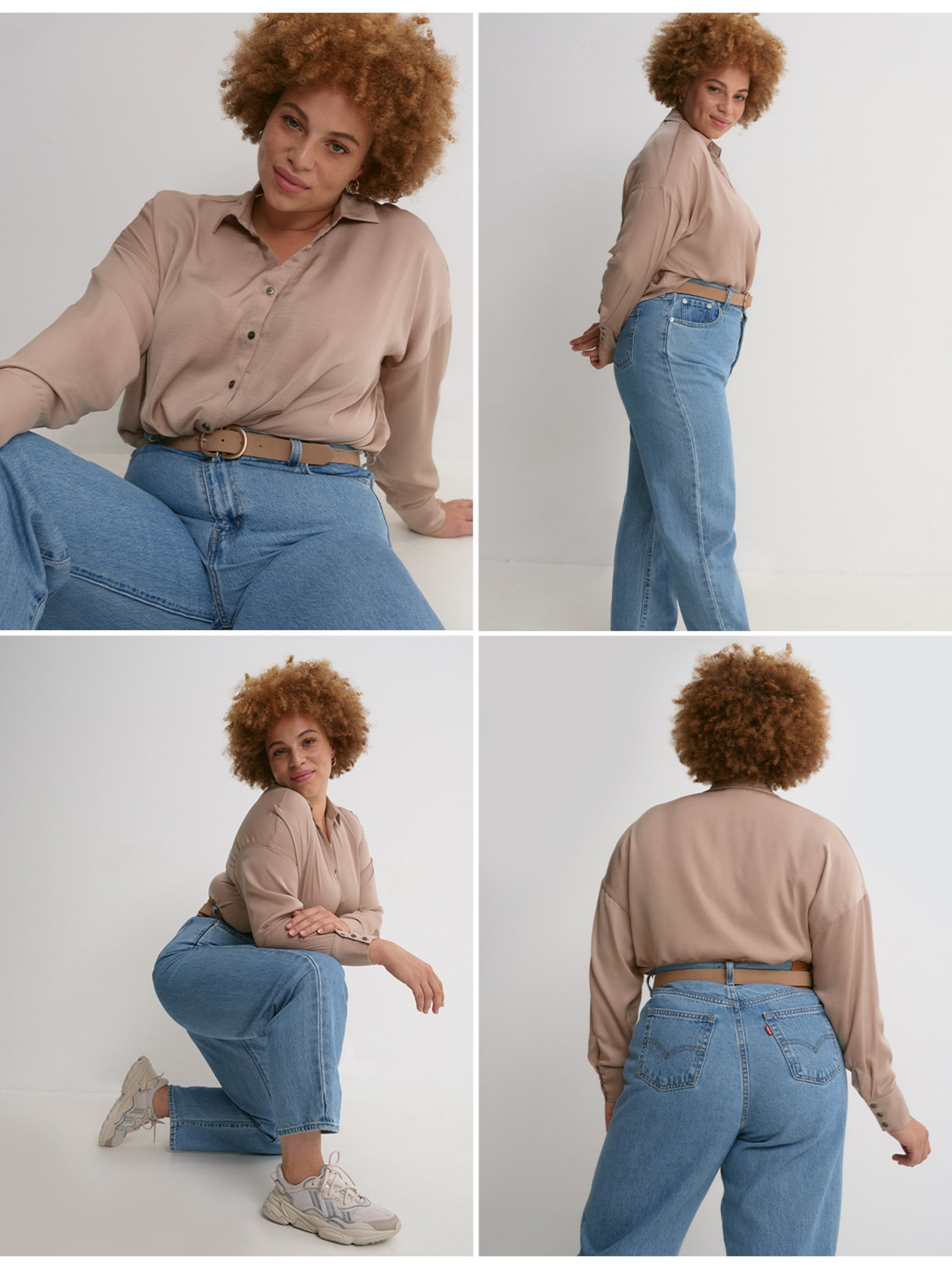 Body type: Petite & Curved Top 3 Jeans Fits