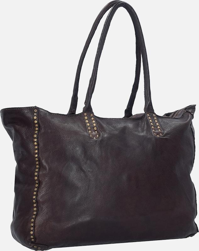 Campomaggi Big Shopper Leder Pockets 37 Cm