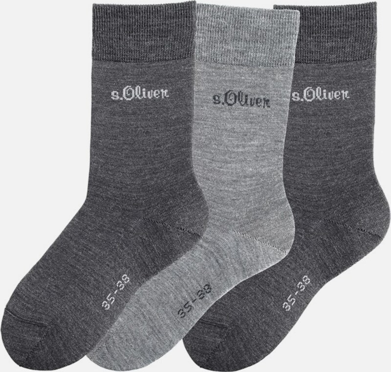 s.Oliver RED LABEL Damensocken (3 Paar)