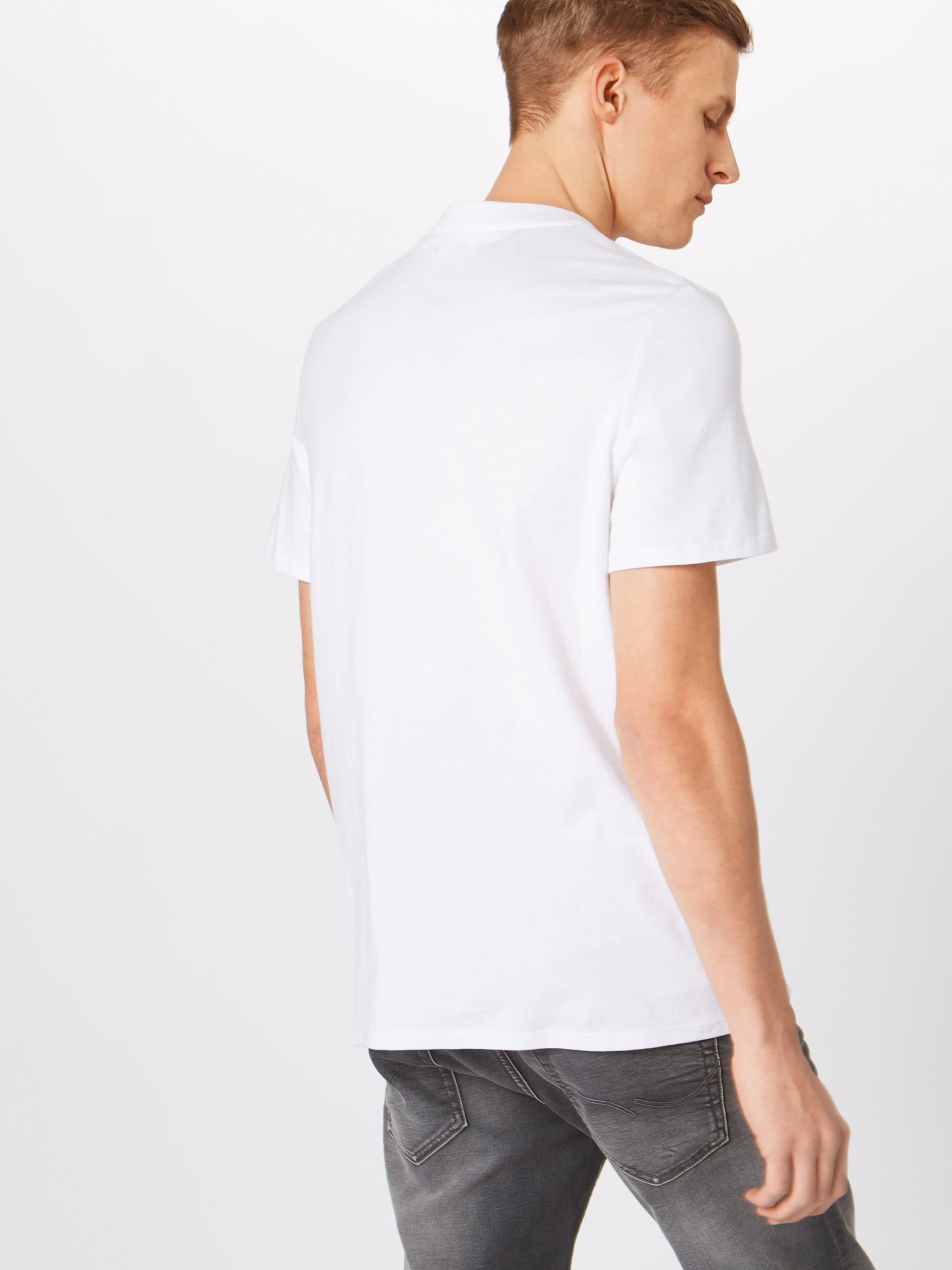 T T shirt Blanc En En Guess shirt Guess n08wvNOm