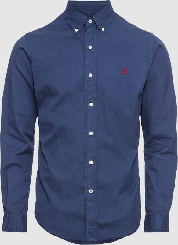 POLO RALPH LAUREN Hemd 'SL 3BD PPC-LONG SLEEVE-SPORT SHIRT' in navy  Mode neue Kleidung