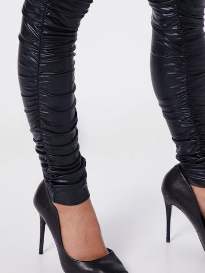 Pantaloni 'PL0178' Parallel Lines pe negru, Vizualizare produs