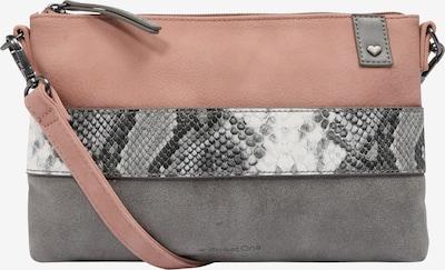 STREET ONE Pochette 'Clutch Snake' en gris / rosé, Vue avec produit