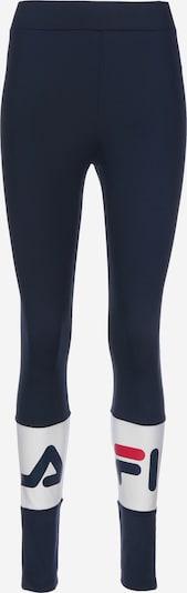 FILA Leggings in nachtblau / weiß, Produktansicht