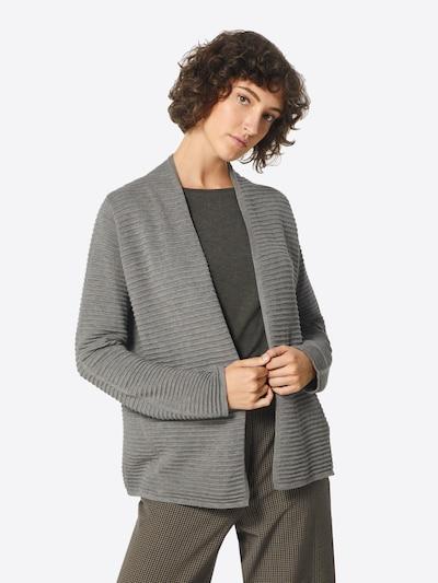MORE & MORE Strickjacke in graumeliert, Modelansicht