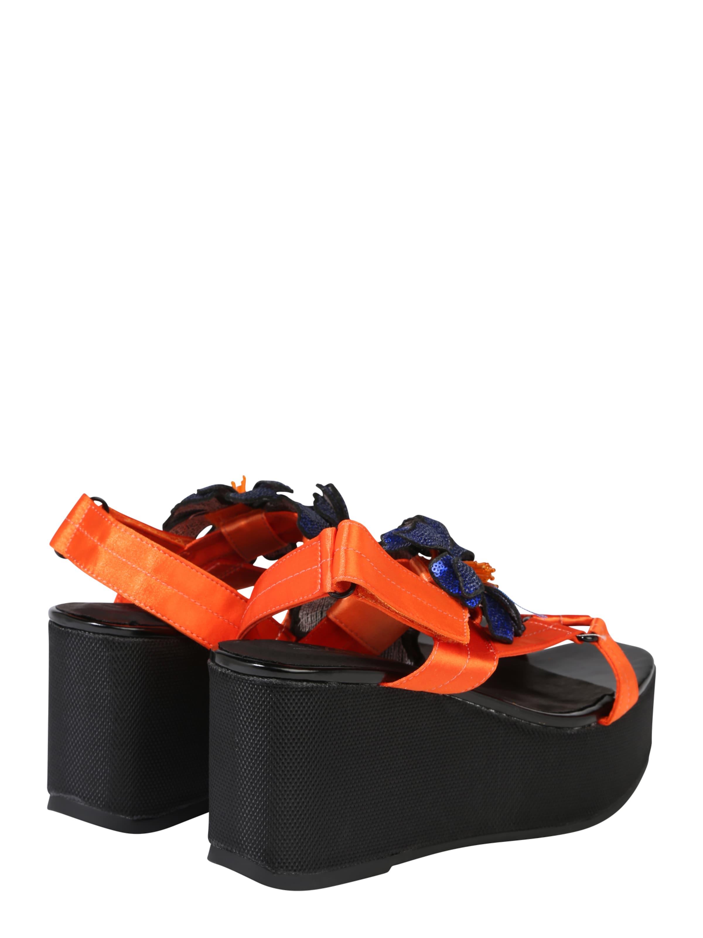 Orange Plateau 'take' In Sixtyseven sandalette CBoedxrW