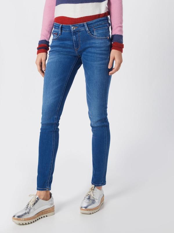 Denim Skinny Nyfrs' Tommy 'low Bleu Rise En Scarlett Jeans Jean NnOPZ0w8kX
