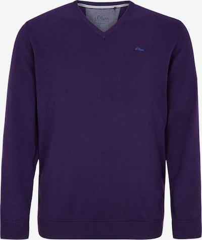 s.Oliver Men Big Sizes Pullover in dunkellila, Produktansicht