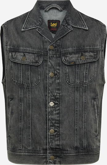 Lee Weste 'Rider Vest' in black denim, Produktansicht