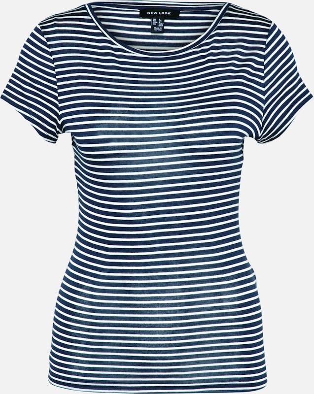 Look T New 'stripe Slinky' shirt Marine Hellgrau g0xwqO