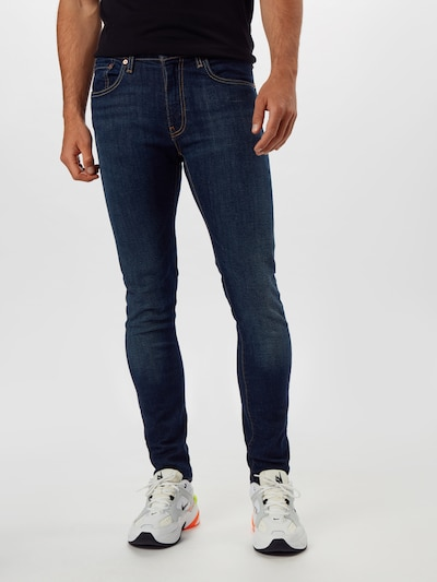LEVI'S Jeans in blue denim, Modelansicht