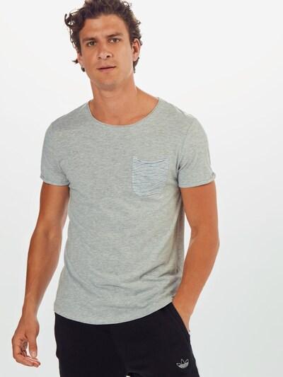 TOM TAILOR DENIM T-Shirt en gris: Vue de face