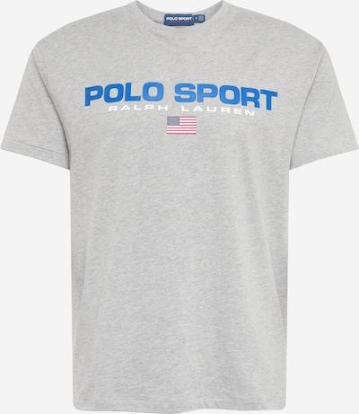 Polo Ralph Lauren Tričko - nebeská modř / šedá / bílá, Produkt