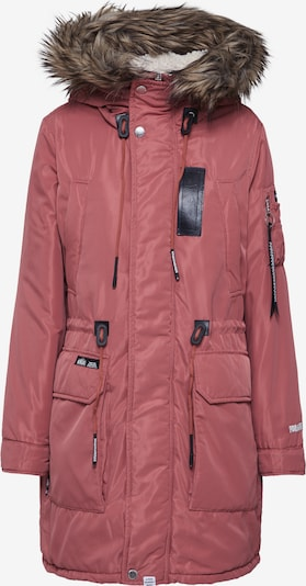 khujo Parka zimowa 'MISCHA' w kolorze beżowy / różany / czarnym, Podgląd produktu