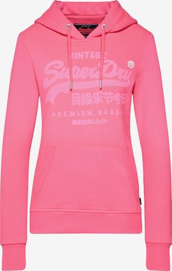 Superdry Bluzka sportowa 'PREMIUM GOODS TONAL INFILL ENTRY HOOD' w kolorze różowym, Podgląd produktu