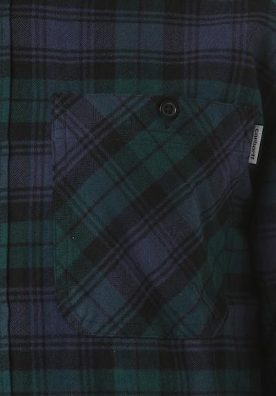 Carhartt WIP Hemd Pelkey L/S in blau, Produktansicht