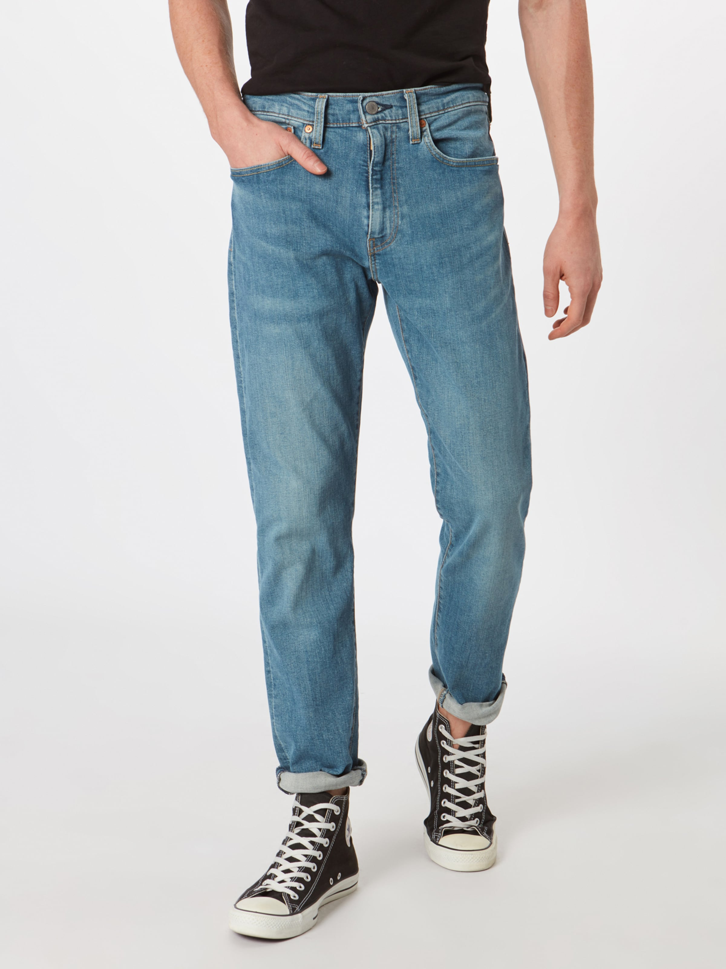 Jeans Levi's Blue Denim '502� regular In Taper' 8O0NXnwPk