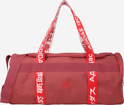 ADIDAS PERFORMANCE Sports bag in pastel red / light red / white, Item view
