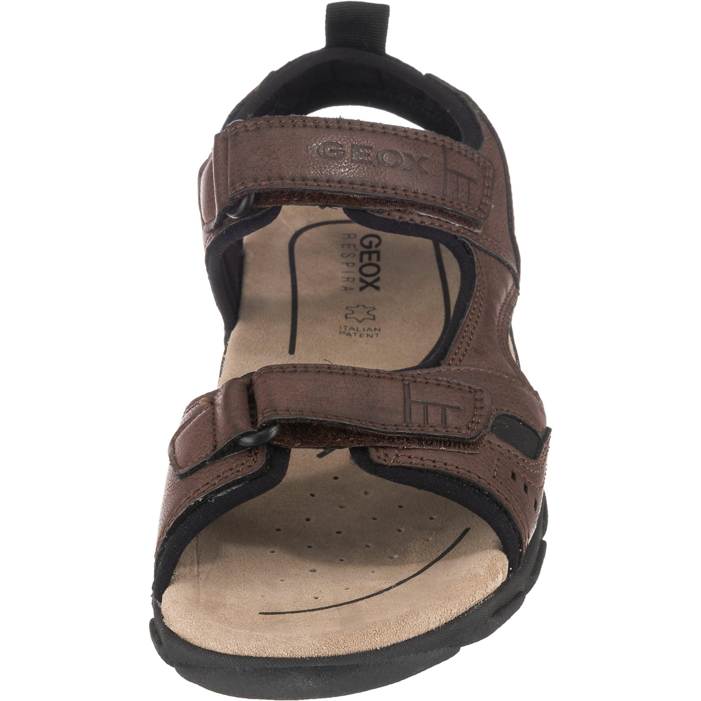 Geox Komfort Geox BraunSchwarz In sandale QCWrdeoxB
