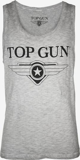 TOP GUN Tank Top ' Truck ' in grau, Produktansicht