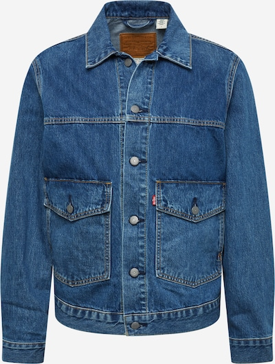 LEVI'S Jacke 'PATCHPOCKETTRUCKER' in blue denim, Produktansicht