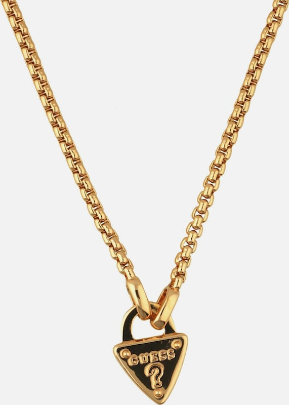 Guess The Secret Key Necklace Ubn21554 With Elegant Alloy