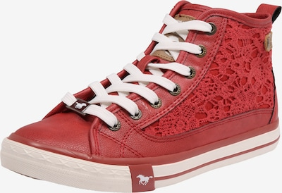 MUSTANG High-top trainers 'Macrame' in Red, Item view