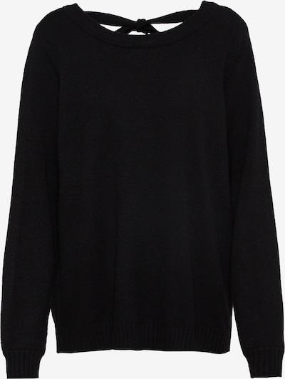 VILA Džemperis pieejami raibi melns, Preces skats