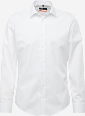 SEIDENSTICKER Hemd 'Business Kent' in Weiß
