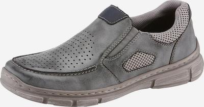 RIEKER Slipper in grau, Produktansicht
