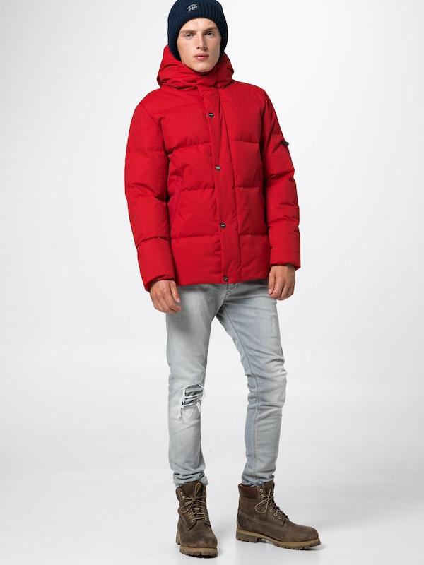 Elvine D'hiver En Veste 'bruno' Rouge 6fby7Ygv