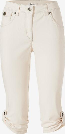 heine Bodyform-Capri-Jeans in offwhite, Produktansicht